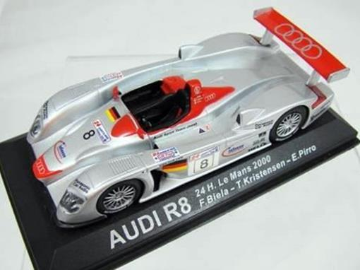 Audi: R8 - 24 H Le Mans (2000) - 1:43 - Del Prado