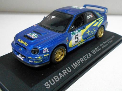 Subaru: Imprenza Wrc - New Zealand Rally (2001) - 1:43 - Del Prado