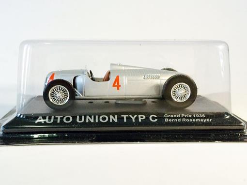 Auto Union: Typ C - #4 Grand Prix (1936) - 1:43 - Del Prado