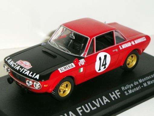 Lancia: Fulvia HF - #14 Rallye de Montecarlo (1972) - 1:43 - Del Prado