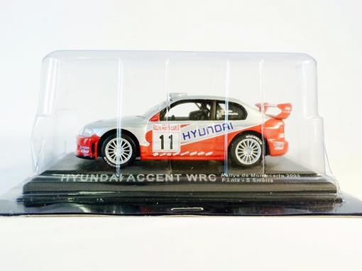 Hyundai: Accent WRC - #11 Rallye de Montecarlo (2003) - 1:43 - Del Prado