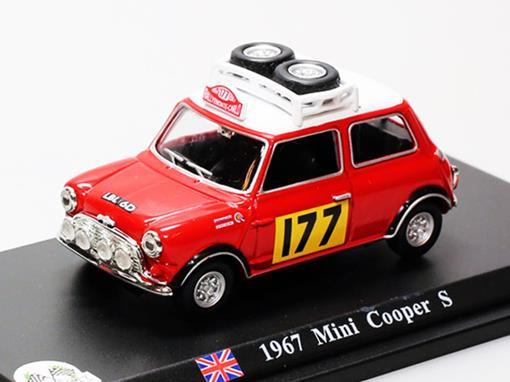 Mini Cooper: S #177 (1967) - 1:43 - Del Prado