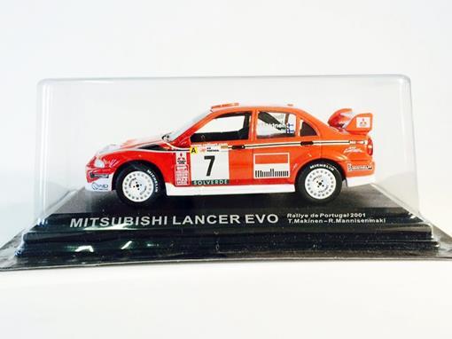 Mitsubishi: Lancer Evo - #7 Rallye de Portugal (2001) - 1:43 - Del Prado