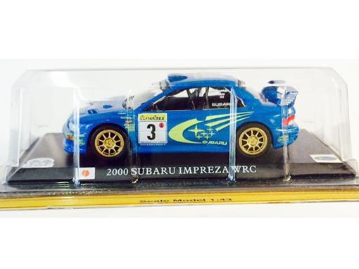 Subaru: Imprenza Wrc (2000) - Azul - 1:43 - Del Prado