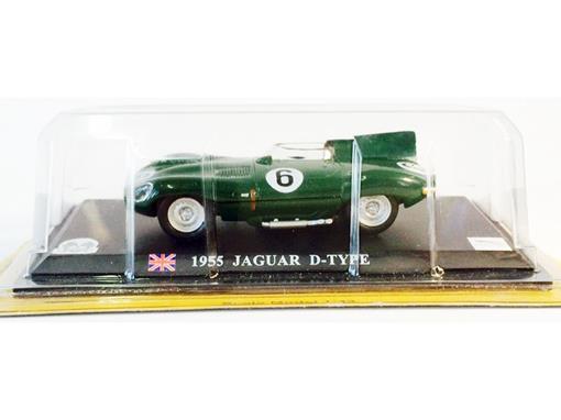 Jaguar: D-Typpe (1955) - Verde - 1:43 - Del Prado