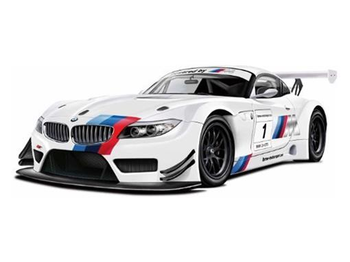BMW: Z4 GT3 - C/ Luz e Som - California Action - 1:24 - California Toys