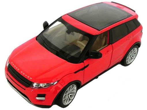 Land Rover: Range Rover Evoque - C/ Luz e Som - California Action - 1:24 - California Toys