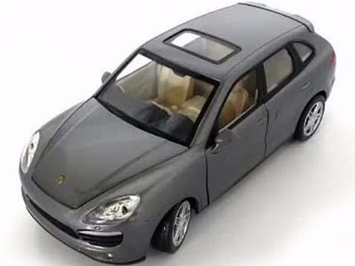 Porsche: Cayenne S - C/ Luz e Som - California Action - 1:24 - California Toys