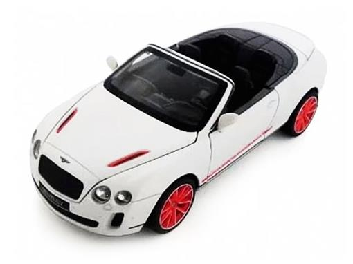 Bentley: Continental Supersports Conversível ISR - C/ Luz e Som - California Action - 1:24 - California Toys