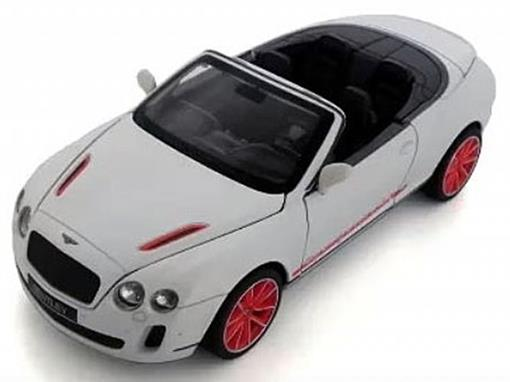 Bentley: Continental Supersports Convertible ISR - C/ Luz e Som - California Action - 1:32 - California Toys