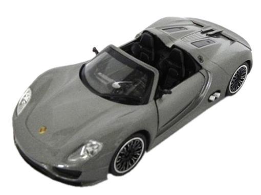 Porsche: 918 Spyderas - C/ Luz e Som - California Action - 1:32 - California Toys
