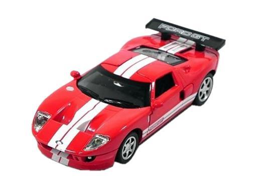 Ford: GT - C/ Luz e Som - California Action - Vermelho - 1:32 - California Toys