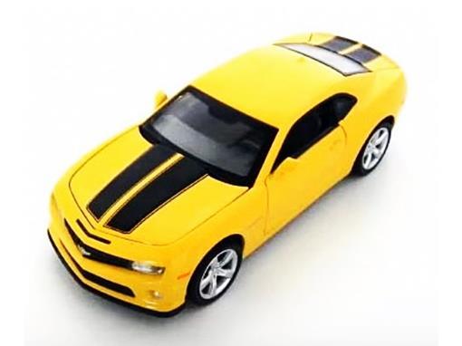 Chevrolet: Camaro SS - C/ Luz e Som - California Action - Amarelo - 1:32 - California Toys