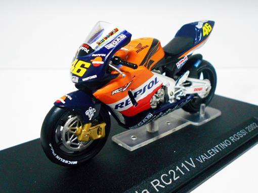 Honda: RC211V - #46 Valentino Rossi - (2002) - 1:24 - Altaya