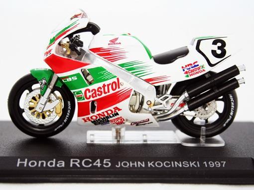 Honda: RC45 - #3 John Kocinsky - (1997) - 1:24 - Altaya