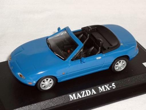 Mazda: Mx-5 - Azul - 1:43 - Del Prado