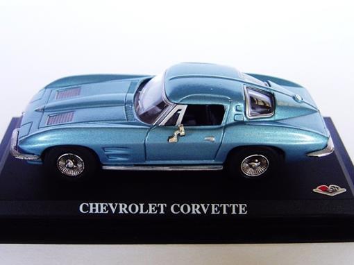 Chevrolet: Corvette - Azul - 1:43 - Del Prado
