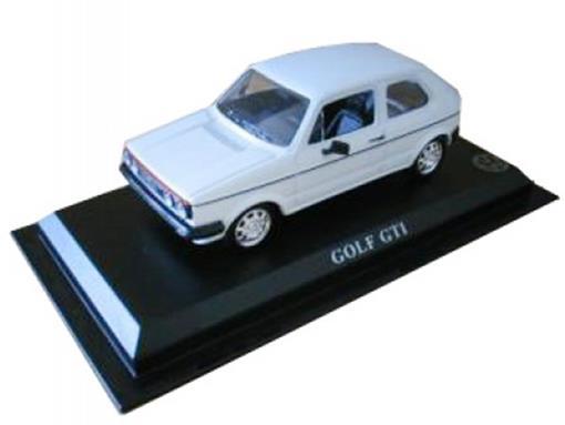 Volkswagen: Golf GTI - Branco - 1:43 - Del Prado