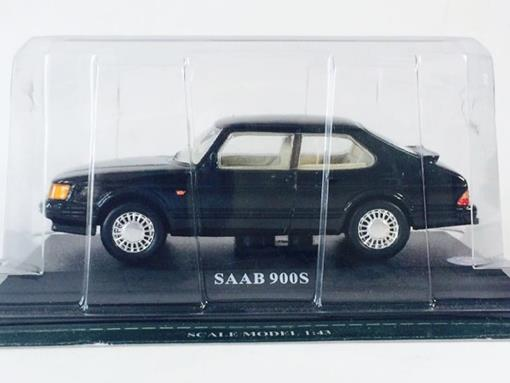 Saab: 900s - Preto - 1:43 - Del Prado