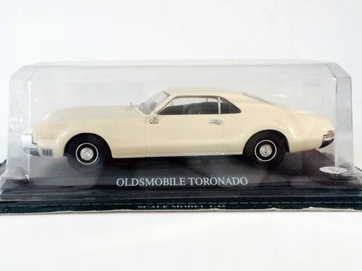 Oldsmobile: Toronado - Creme - 1:43 - Del Prado