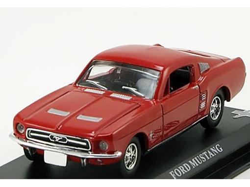 Ford: Mustang - Vermelha - 1:43 - Del Prado