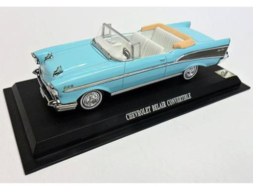 Chevrolet: Bel Air Conversível - Azul - 1:43 - Del Prado