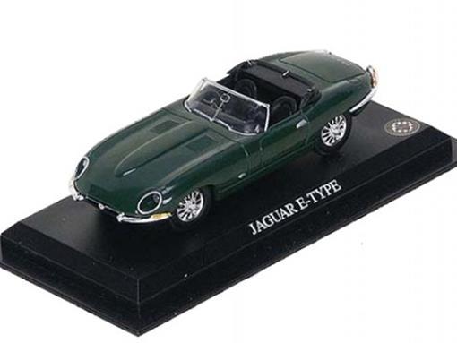 Jaguar: E-Type - Verde - 1:43 - Del Prado