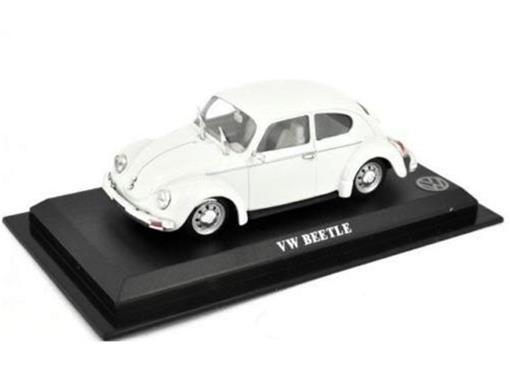 Volkswagen: Beetle / Fusca - Branco - 1:43 - Del Prado