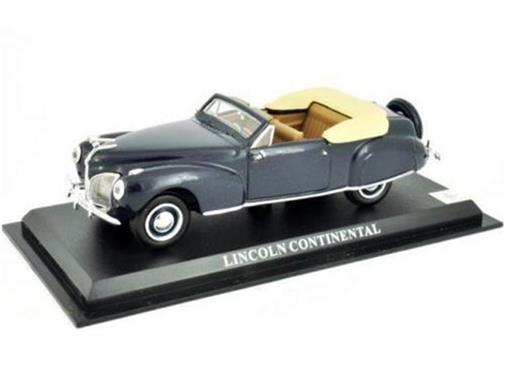Lincoln: Continental - Azul - 1:43 - Del Prado