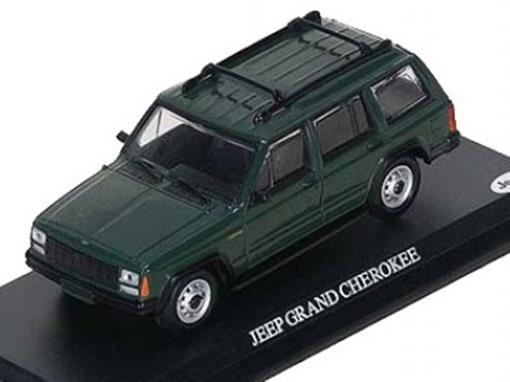 Jeep: Grand Cherokee - Verde - 1:43 - Del Prado