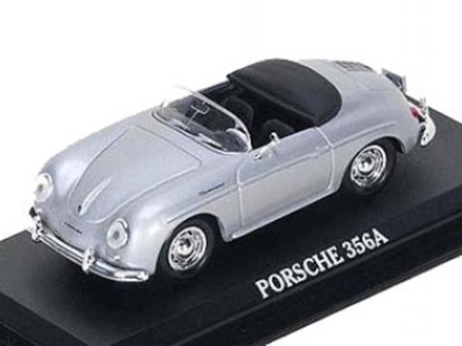 Porsche: 356A - Prata - 1:43 - Del Prado
