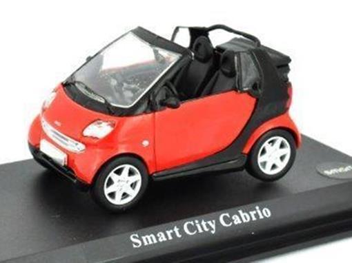 Smart: City Cabrio - Vermelho - 1:43 - Del Prado