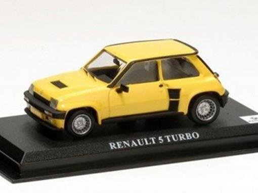 Renault: 5 Turbo - Amarelo - 1:43 - Del Prado