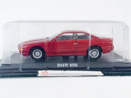 BMW: 850i - Vermelho - 1:43  - Del Prado