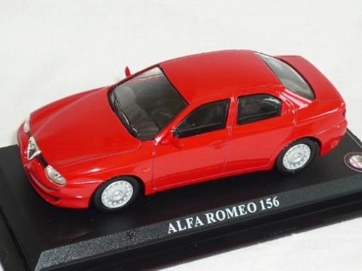 Alfa Romeo: 156 - Vermelho - 1:43 - Del Prado