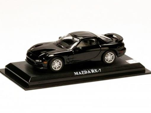 Mazda: RX-7 - Preto - 1:43 - Del Prado