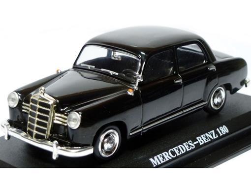 Mercedes Benz: 180 - Preto - 1:43 - Del Prado