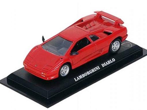 Lamborghini: Diablo - Vermelha - 1:43 - Del Prado