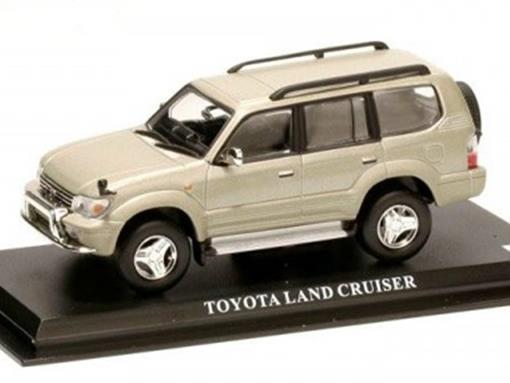 Toyota: Land Cruiser - Cinza - 1:43 - Del Prado