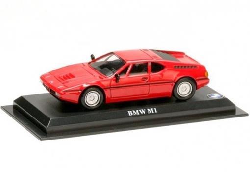 BMW: M1 - Vermelha - 1:43 - Del Prado