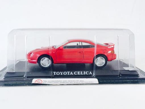 Toyota: Celica - Vermelho - 1:43 - Del Prado
