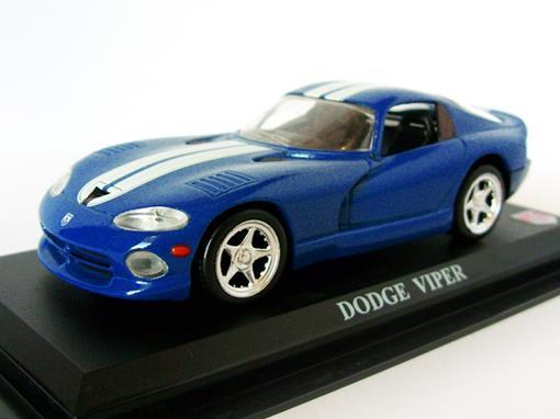 Dodge: Viper - Azul - 1:43 - Del Prado