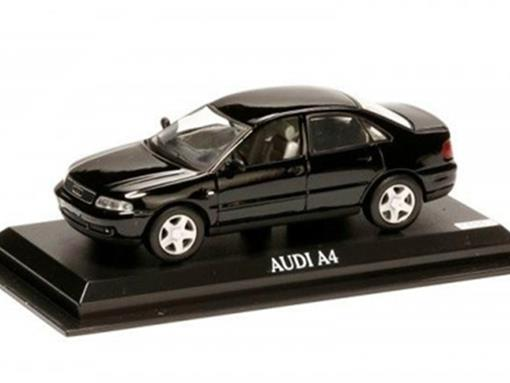 Audi: A4 - Preto - 1:43 - Del Prado