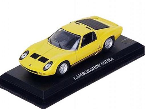 Lamborghini: Miura - Amarelo - 1:43 - Del Prado