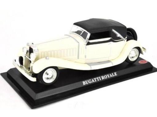 Bugatti: Royale - Branco - 1:43 - Del Prado