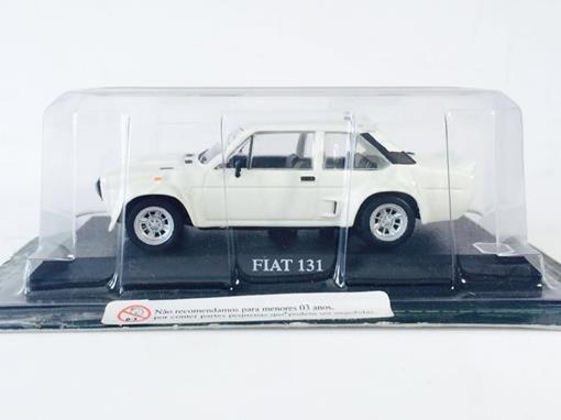 Fiat: 131 - Branco - 1:43 - Del Prado
