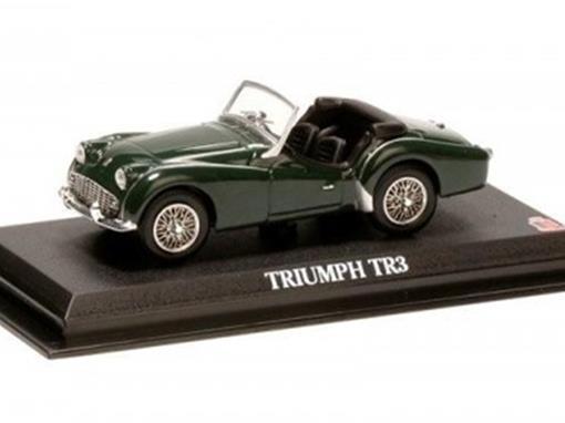 Triumph: Tr3 - Verde - 1:43 - Del Prado