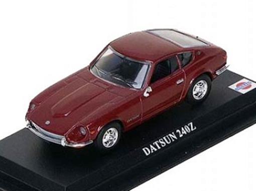Datsun: 240z - Vermelho - 1:43 - Del Prado