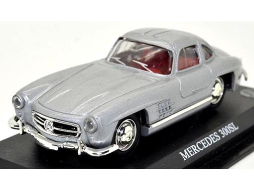 Mercedes Benz: 300SL - Cinza - 1:43 - Del Prado