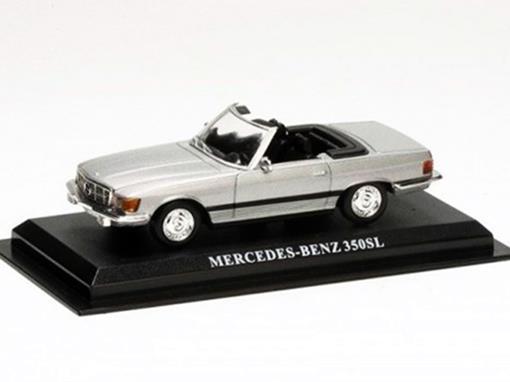 Mercedes Benz: 350SL - Cinza - 1:43 - Del Prado